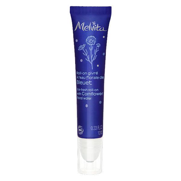 Melvita Eau Florale Roll-On Givré Bleuet Bio 10ml