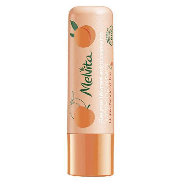 Melvita Baume Lèvres Adoucissant Abricot Bio 3,5g