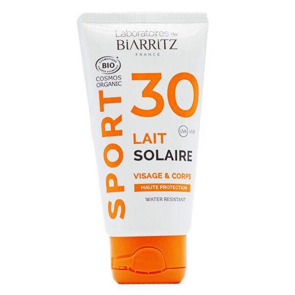 Laboratoires de Biarritz Sport Lait Solaire SPF30 Bio 50ml
