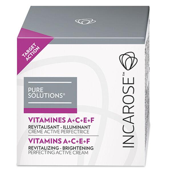 Incarose Pure Solutions Crème Vitamines A+C+E+F 50ml
