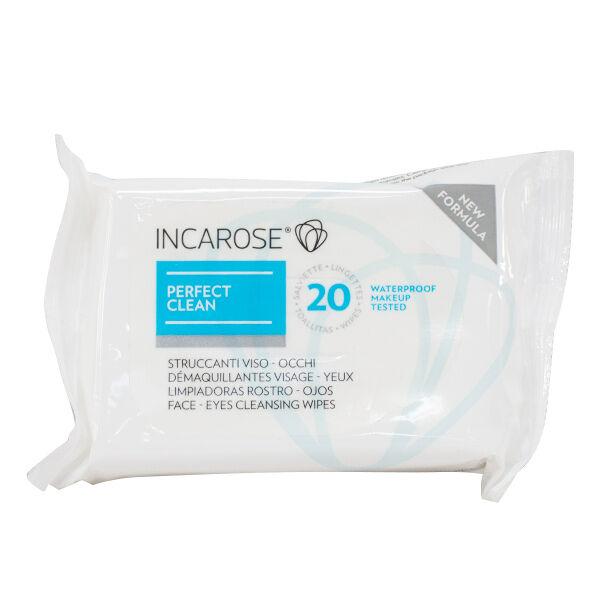 Incarose Perfect Clean Lingettes Démaquillantes 20 unités
