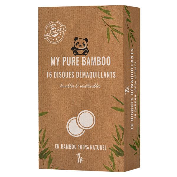 My Pure Bamboo Cosmétique Disque Démaquillant 16 unités