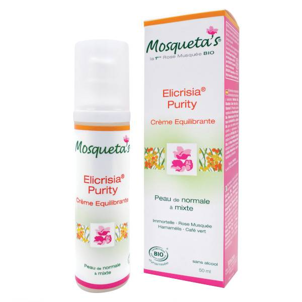 Kosmeo B Mosqueta's Elicrisia Purity Crème Equilibrante Bio 75ml