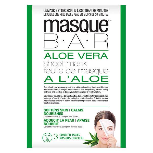 Masque B.A.R B.A.R. Masque à l'Aloe Vera 3 unités