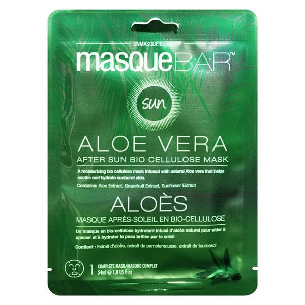 Masque B.A.R B.A.R. Masque Après-Soleil à l'Aloe Vera en Bio Cellulose 1 unité