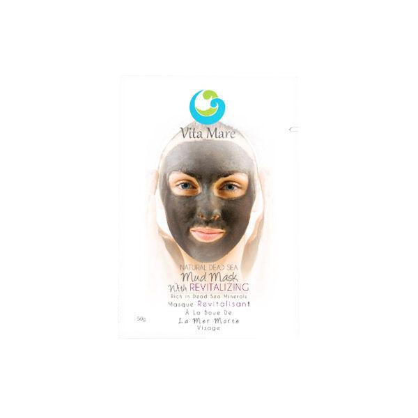 Vita Mare Vita Maré Masque Revitalisant à la Boue de la Mer Morte 50g
