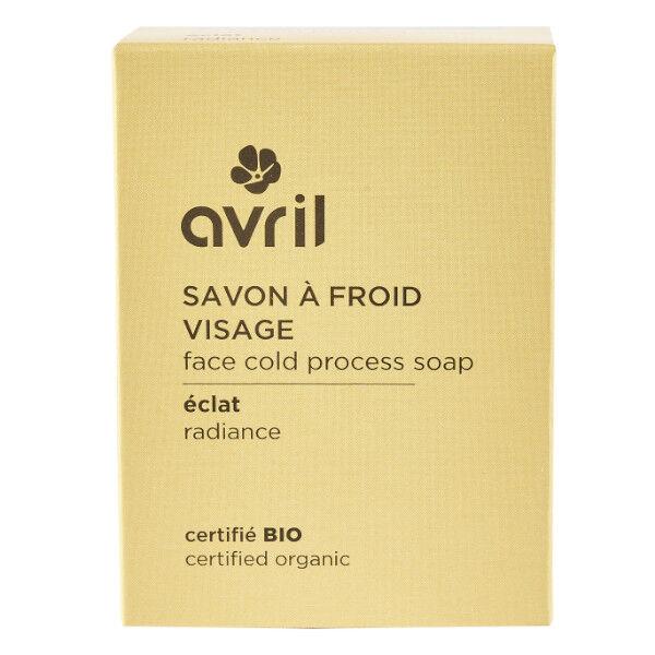 Avril Visage Savon à Froid Eclat Bio 100g