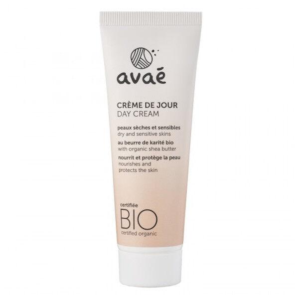 Avaé Crème de Jour Peaux Sèches et Sensibles Bio 50ml