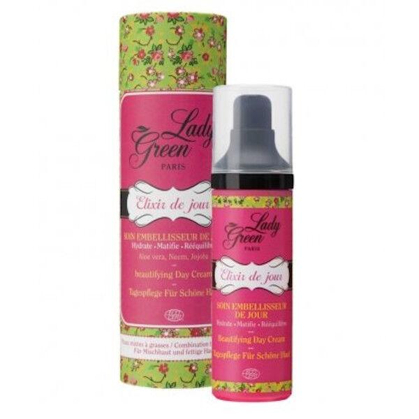 Lady Green Elixir de Jour Soin Embelisseur de Jour Bio 40ml