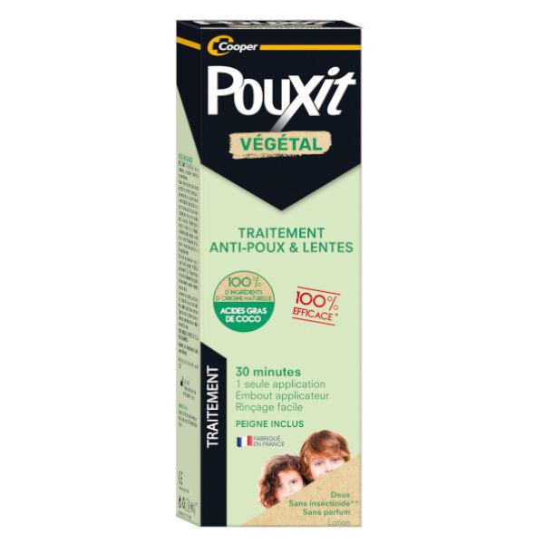 Cooper Pouxit Végétal Traitement Anti-Poux et Lentes 200ml