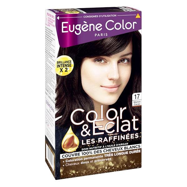 Eugène Color Les Raffinées Crème Colorante Permanente n°17 Marron Cacao