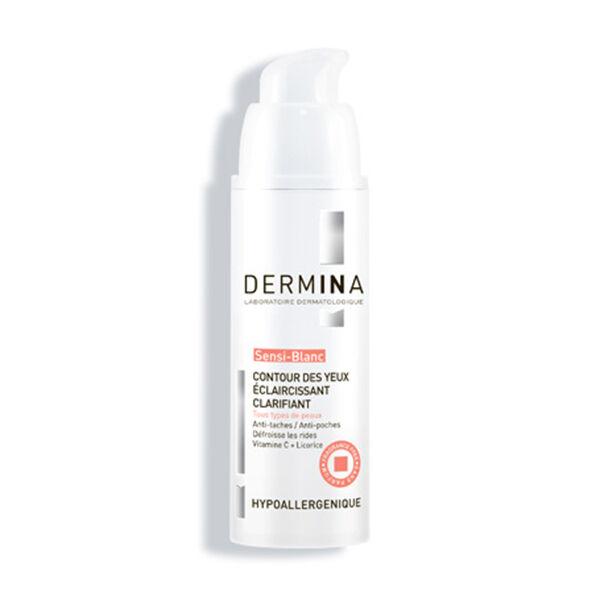Dermina - Sensi-Blanc - Contour des Yeux Eclaircissant Clarifiant 20ml