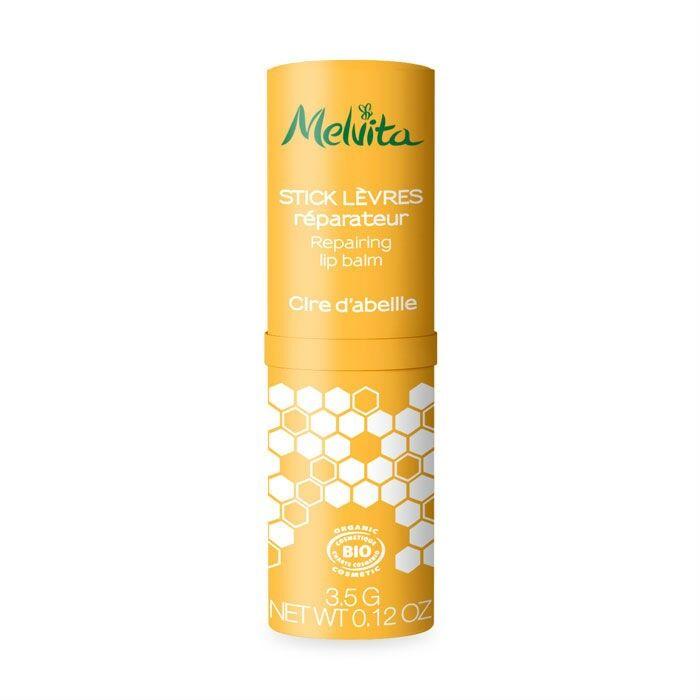 Melvita - Apicosma - Stick Lèvres Cire d'abeille 3.5g