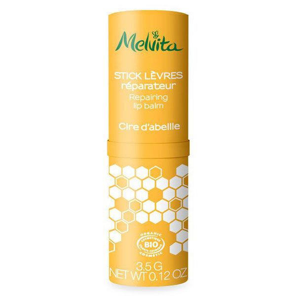 Melvita Nectar de Miels Stick Lèvres Réparateur à la Cire d'Abeille Bio 3,5g