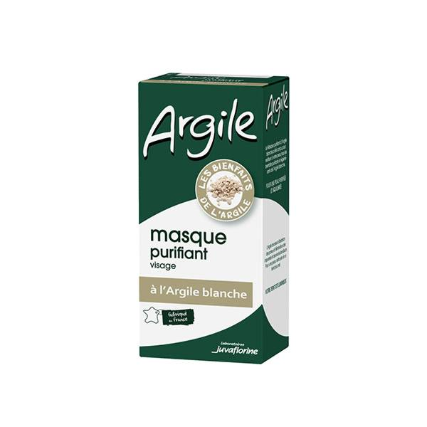 Juvaflorine Argile Masque Purifiant à l'Argile Blanche 50ml