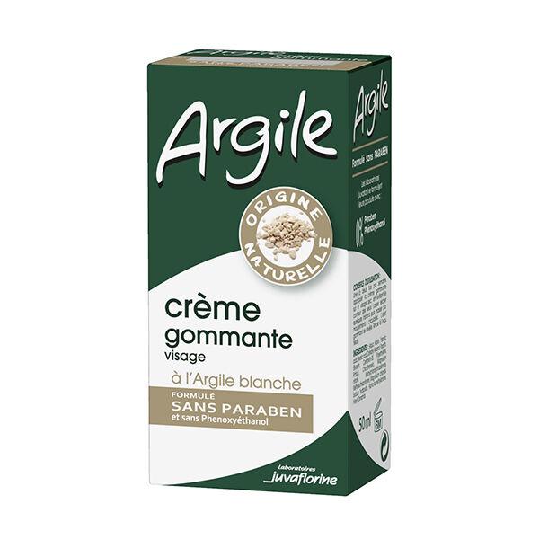 Juvaflorine Argile Crème Gommante à L'Argile Blanche 50ml