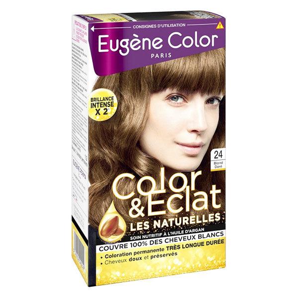 Eugène Color Les Naturelles Crème Colorante Permanente n°24 Blond Doré