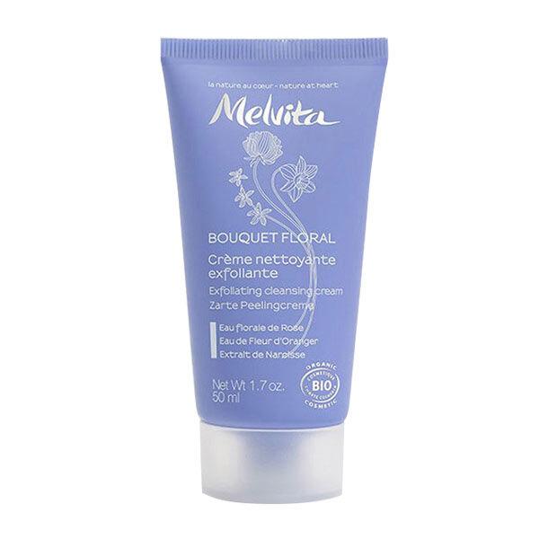 Melvita - Bouquet Floral - Crème Nettoyante Exfoliante 50ml