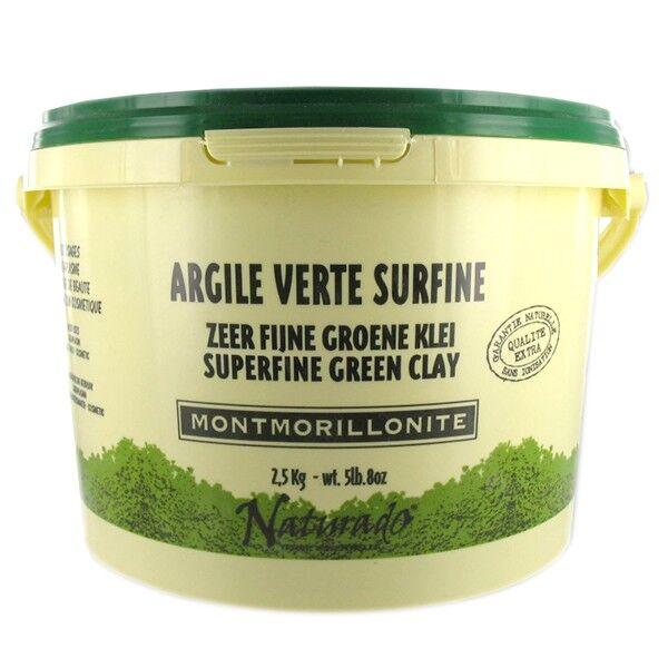 Naturado en Provence Naturado Argile Verte Montmorillonite seau de 2,5 kg