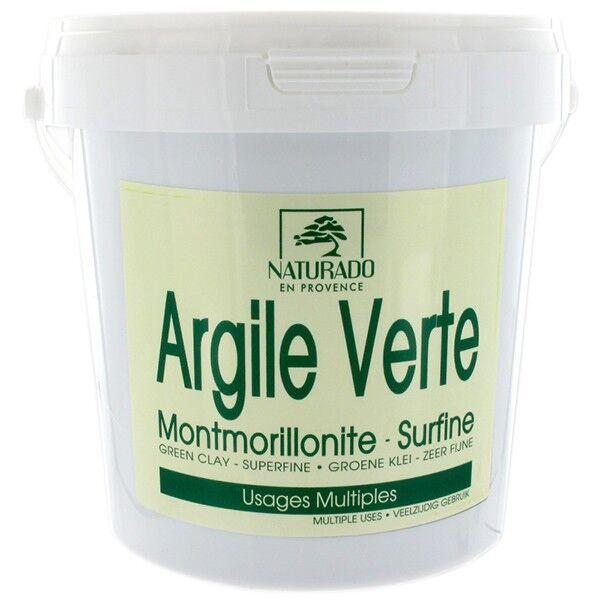 Naturado en Provence Naturado Argile Verte Montmorillonite seau de 1 kg