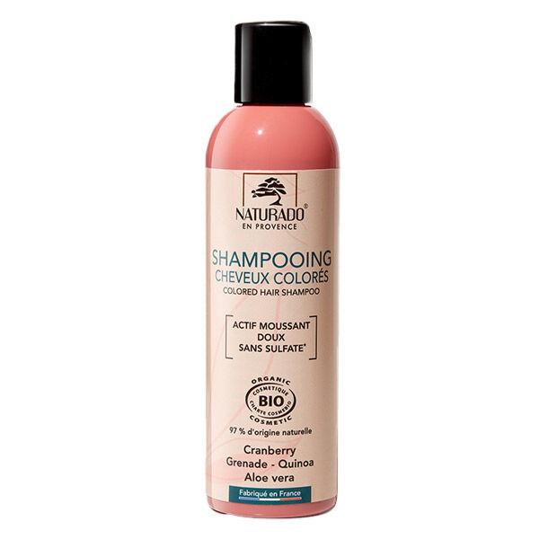 Naturado Shampooing Cheveux Colorés Sans Sulfate 200ml