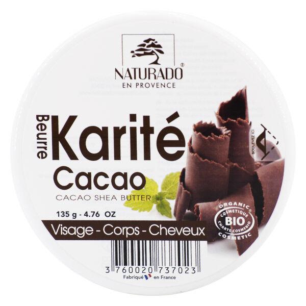 Naturado en Provence Naturado Beurre de Karité Cacao 135g