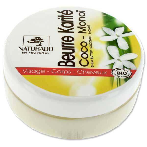 Naturado Beurre de Karité Coco Monoï bio 150ml