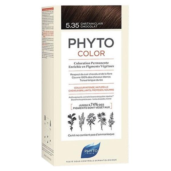 Phyto Color 5.35 Châtain Clair Chocolat