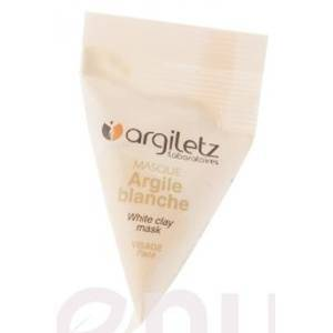 Argiletz Masque Argile Blanche Berlingot 15ml