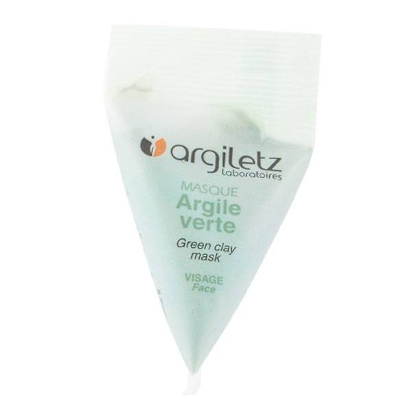 Argiletz Masque Argile Verte Berlingot 15ml