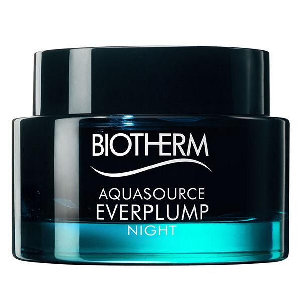 Biotherm Aquasource Everplump Masque De Nuit Hydratant Anti Ride Raffermissant 75ml