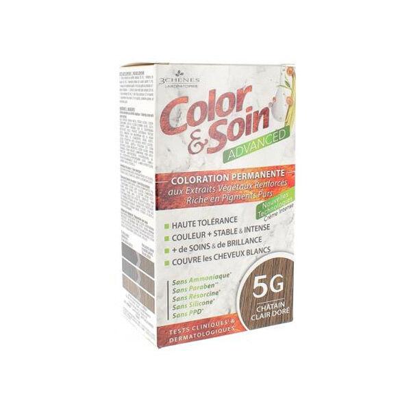 Les 3 Chênes Color & Soin Advanced Châtain Clair Doré 5G