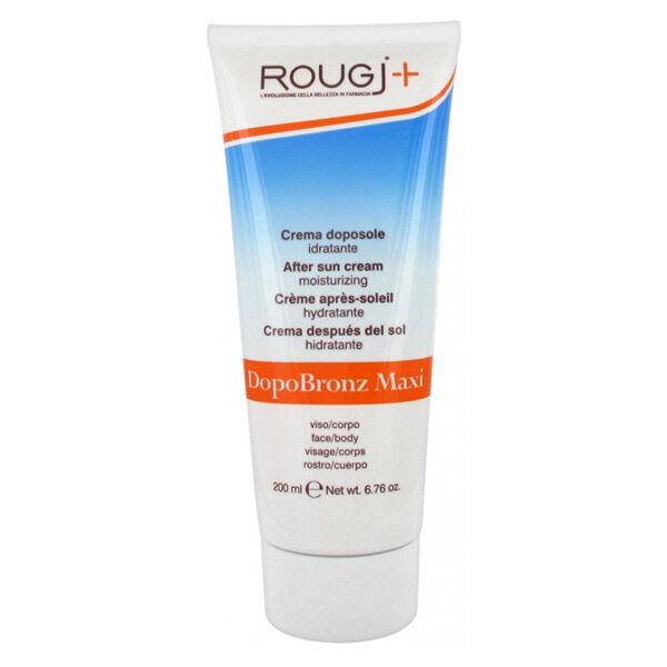 Rougj+ Crème Après Soleil Hydratante Visage et Corps 200ml