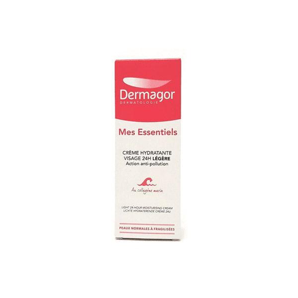 Dermagor Crème Hydratante Visage Légère Action Anti-Pollution 40ml