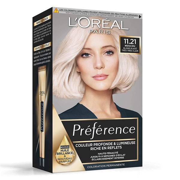 L'Oréal Préférence Coloration Moscou 11.21