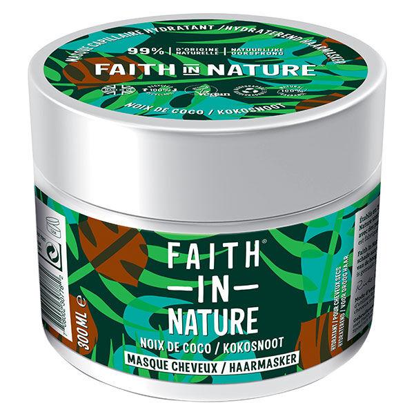 Faith In Nature Masque Cheveux Noix de Coco 300ml