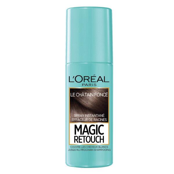 L'Oréal Paris Magic Retouch Spray Racines Châtain Foncé 75ml