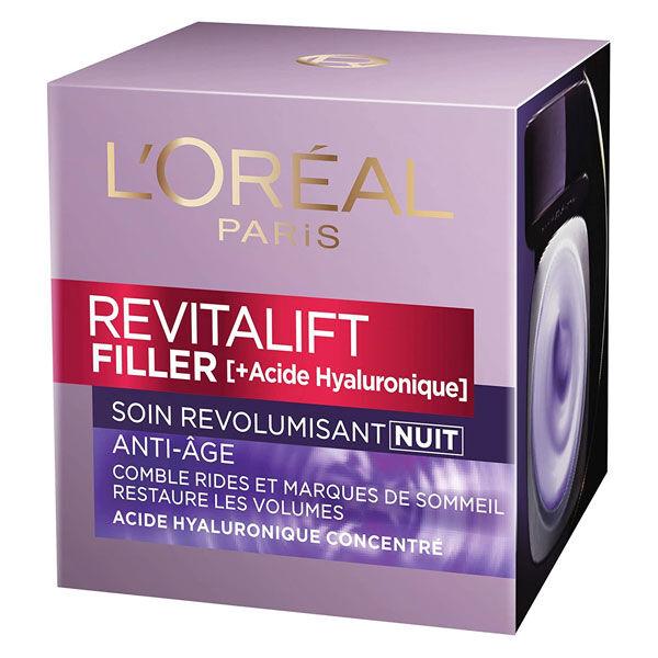 L'Oréal Paris L'Oréal Dermo Expertise Revitalift Filler +Acide Hyaluronique Soin Nuit 50ml
