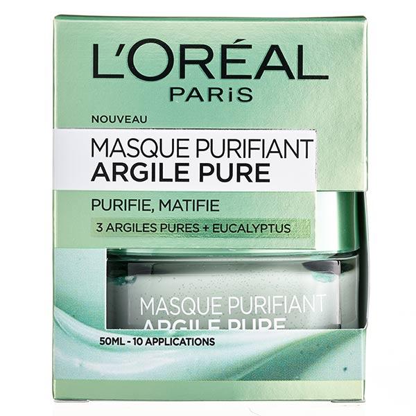 L'Oréal Paris L'Oréal Dermo Expertise Argile Pure Masque Purifiant 50ml