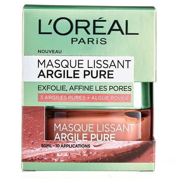 L'Oréal Paris L'Oréal Dermo Expertise Argile Pure Masque Lissant 50ml