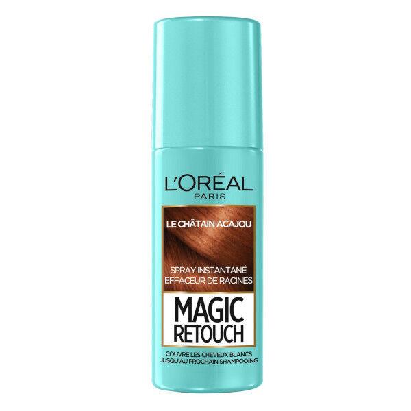 Magic Retouch L'Oréal Paris Magic Retouch Spray Racines Châtain Acajou 75ml