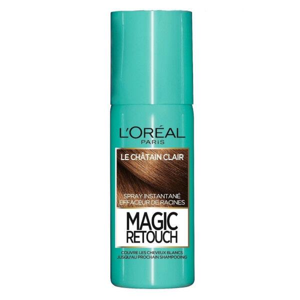 Magic Retouch L'Oréal Paris Magic Retouch Spray Retouche Racines Châtain Clair 75ml