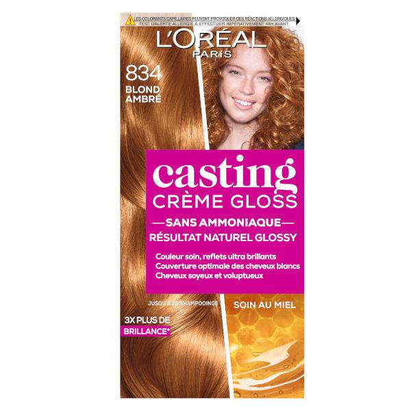 L'Oréal Paris L'Oréal Casting Crème Gloss Coloration Blond Ambré 834