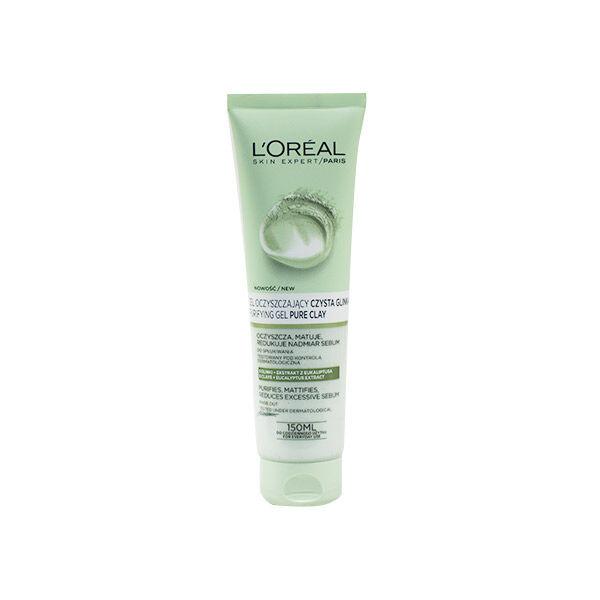 L'Oréal Gel Peeling Argile Pure 150ml