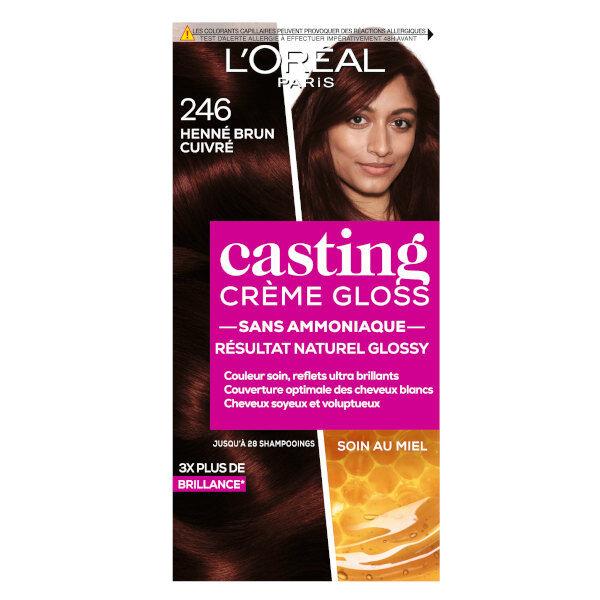 L'Oréal Paris L'Oréal Casting Crème Gloss Coloration Henné Brun Cuivré 246