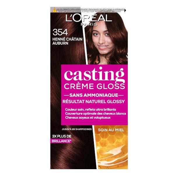 L'Oréal Paris L'Oréal Casting Crème Gloss Coloration Henné Châtain Auburn 354