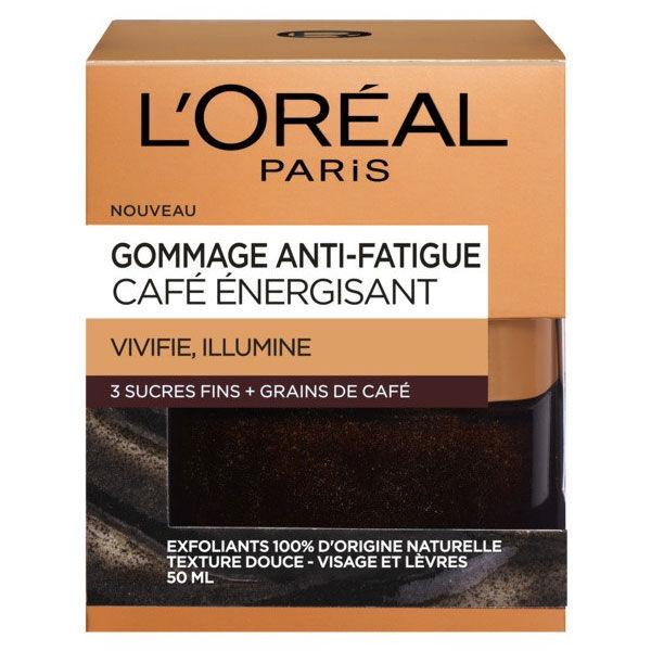 L'Oréal Dermo Expertise Gommage Anti-Fatigue café Energisant 50ml