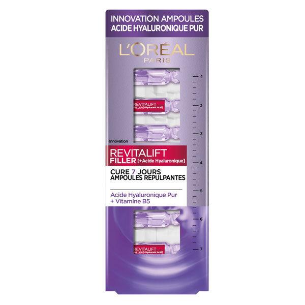 L'Oréal Paris L'Oréal Dermo Expertise Revitalift Filler +Acide Hyaluronique 1.3ml x 7 ampoules repulpantes