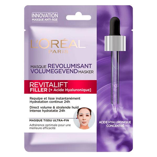 L'Oréal Paris L'Oréal Dermo Expertise Revitalift Filler +Acide Hyaluronique Masque Tissu Anti-Age