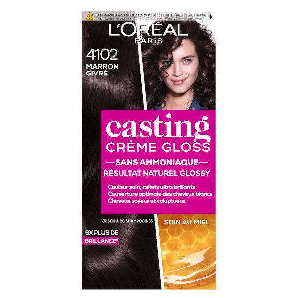 L'Oréal Paris L'Oréal Casting Crème Gloss Coloration Marron Givré 4102